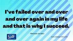 I've failed over and over and over again in my life and that is why I succeed. – Michael Jordan #SalesGarners #marketingstrategy #marketingtips #marketingagency #businesstips #MondayMorning #MondayMotivation #MotivationalQuotes #BusinessGrowth #GrowthMindset #Success #Growth Business Quotes, Business Tips, Growth Mindset, Lead Generation, Michael Jordan, Monday Motivation, Motivationalquotes, Fails, My Life