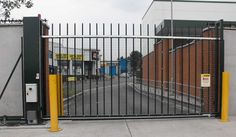 Sliding Gates & Sliding Electric Gates | Newgate.uk.com Electric Sliding Gates, Security Gates, Cool Stuff, Safety Gates