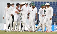 Tourists slip to defeat with just 6.3 overs left in Dubai   #Cricket #testcricket #crickettalk #PakvEng