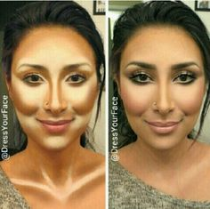 Contouring and highlightening