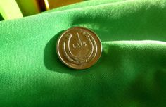 me. Latvia 1 LATS 2010 Horseshoe  Coin for Luck by ForCollecting