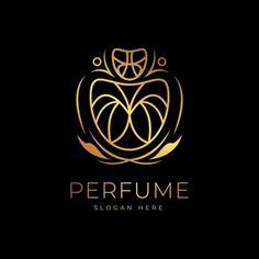 Estilo Floral, Perfume Logo, S Logo Design, Logo Process, Golden Design, Design Floral, Business Logo, Business Design, Logo Concept