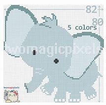 Nalezený obrázek pro free crochet elephant rug pattern