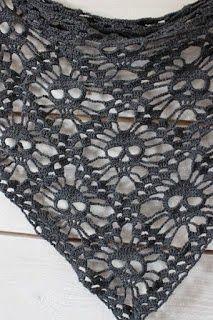 As Receitas de Crochê: Xale de croche - pap