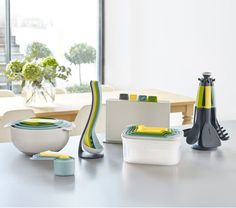 New range of kitchenware for spring featuring lovely pastel shades: the Joseph Joseph Opal collection.
