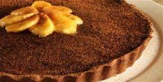 Torta de Chocolate e Banana