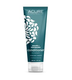Acure natural conditioner is ideal for frizzed, fried, and frustrated hair! An ultra-hydrating combo of marula oil and coconut water that tranforms hair from frizzed and frustrated to smooth and shiny. Buy Acure natural hair care & more at Sassy Organics. Natural Hair Care, Natural Hair Styles, Natural Skin, Natural Health, Acure Organics, Natural Hair Conditioner, Babassu Oil, Organic Argan Oil, Coconut Oil For Skin