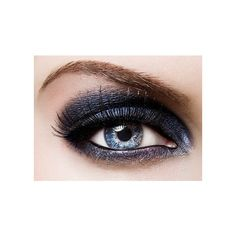 smokey eye | Tumblr ❤ liked on Polyvore featuring beauty products, makeup, eye makeup and eyes