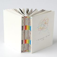 Colorful book binding