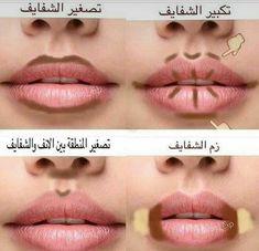 Makeup 101, Beauty Makeup Tips, Makeup Looks, Contour Makeup, Skin Makeup, Lip Contouring, Learn Makeup, Beauty Care Routine, Makeup Lessons