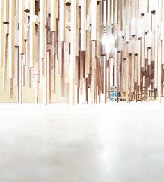 Covert Installation Pitti Uomo 2015 Design: Enrico Girotti / Elia Perbellini / 2015 Photo: Enrico Girotti