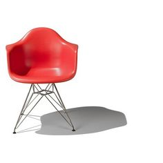 plastic chair, mold plastic, eames, plastic armchair, wire base