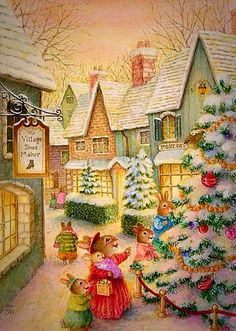 Oh, Look. . .A Heavenly Christmas Tree, Like The One I Want, For You And Me ~ Susan Wheeler.