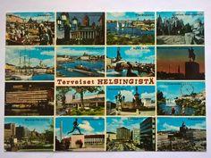 Postcard Helsinki, Finland 1973