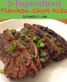 These flanken short ribs only need to be marinaded in a simple marinade then baked, broiled, or fried! Serve with a nice mound of rice! Short Ribs Flanken Style Recipe, Beef Flanken Ribs Recipe, Beef Chuck Short Ribs, Short Ribs In Oven, Pork Short Ribs, Oven Pork Ribs, Beef Ribs Recipe, Meals, Ribe