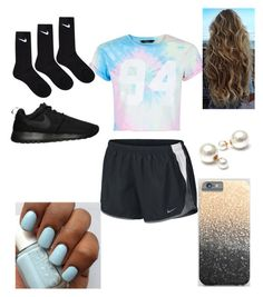 """Untitled #15"" by tabbytha-walsh ❤ liked on Polyvore featuring NIKE and New Look"