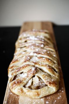 How to Make Apple Danish - Homemade Pastry Recipe.  Good croissant dough recipe, could use any filling and roll into rounds instead