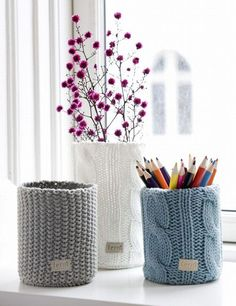 10 lovely knitted home accessories   My Cosy Retreat