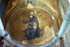 Istanbul. Església de la Panaghia Pammakáristos. Mosaic de l'absis