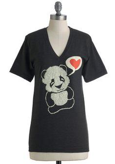 Bear Your Soul Top, #ModCloth  ...or my honey bear loves me