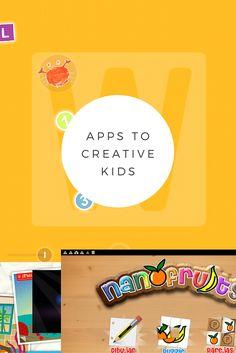 5 apps para potenciar la creatividad de los niños. En el blog http://reinobajito.com/apps-ayudan-incentivar-creatividad-hijos/  5 apps to maximize kid's creativity. Now in the blog: http://reinobajito.com/apps-ayudan-incentivar-creatividad-hijos/