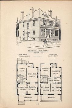 vintage victorian house plans classic victorian home plans house design architecture victorian pinterest more victorian house plans and - Blueprints For Homes