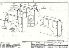 EVO 5.4F LWB T4 / T5 / T6 (Curved Kit Front loading fridge
