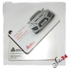 CB 141-000-1 Weiß Pearl glänzend / White Pearlescent - Avery Dennison Supreme Wrapping Film - Autofolien - Car Wrapping Folien