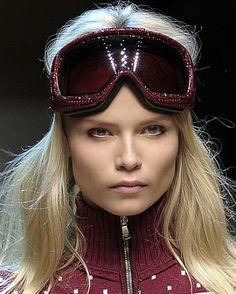 Love this #ski girl make-up!