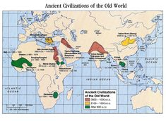 Ancient Civilizations of the Old World 3500 to after 600 BCE.jpg - QED