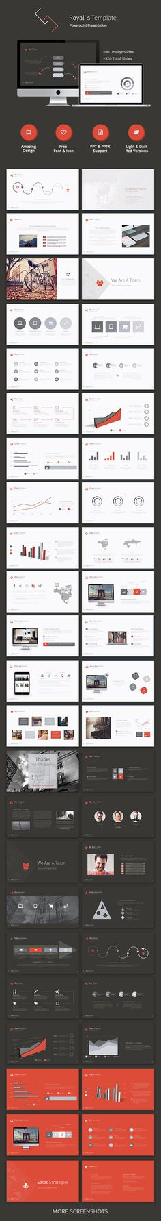 #Royal's Powerpoint Template - #Business #PowerPoint Templates Download here: https://graphicriver.net/item/royals-powerpoint-template/11717128?ref=alena994