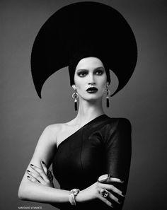 © Mariano Vivanco. Model: Marta Berzkalna, for Vogue Russia