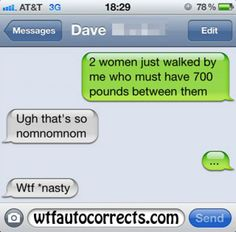 For thousands more like this click: http://realcrazytextsnow.com/