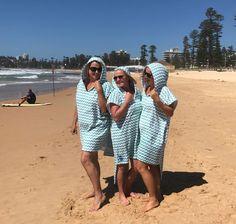 Green Ocean Waves LOLL towel