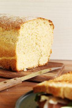 Pan de Maíz, ideal para sandwiches, tostadas y french toast. La receta en Filosofia de Sabor