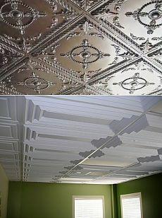 Клеим пенопластовую плитку на потолок. Основные моменты