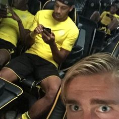 Borussia Dortmund players join Pokemon GO craze
