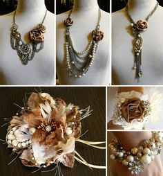 wedding inspired accessories (to make)