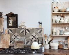 Love this kitchen (via Remodellista)