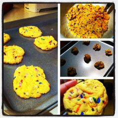 Nom Nom Nom: Funfetti Cake Batter Cookies | Glatz