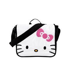 Hello Kitty® Messenger Bag - White/Black