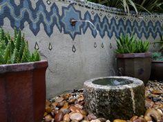 Jeffry Bale's Morroccan Garden wall