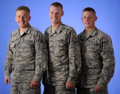 Military service separates families as people answer their nation's call, but for one family, it brought them together again for their next adventure. Three brothers, Ethan, Jubal and Nathaniel Johnson received orders to train at Sheppard Air Force Base, Texas, at the same time.