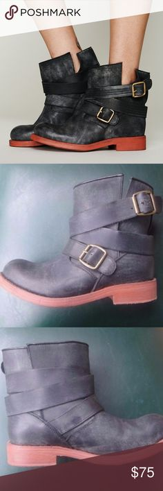 9998154d2cf black Donald J Pliner autumn biker boot size 10