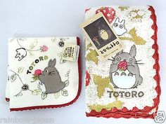My Neighbor Totoro Towel SET 25 x 25, 34 x 78cm Cotton 100% Studio Ghibli A