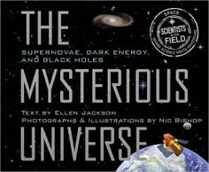 Great examples of figurative language in expository text--multiple examples on Introduction page. Mysterious Universe: Supernovae, Dark Energy, and Black Holes (Scientists in the Field Series) by Ellen Jackson Science And Nature Books, Fate Of The Universe, Cosmos, Mysterious Universe, Lexile, Dark Energy, Mentor Texts, Digital Text, Figurative Language