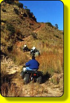 Outrageous Adventures - quad biking (hope we can go fast!!)