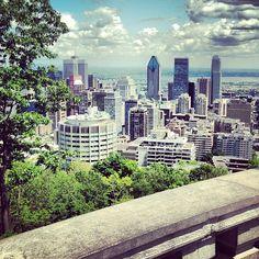 Parc du Mont-Royal à Montreal, QC  Pour une vue imprenable sur la ville.