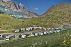 Reisebericht über eine Fahrt mit dem Wohnmobil über die Alpenpässe in der Schweiz und nach Südtirol.