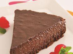 Receita de torta mousse de chocolate   Site Oficial Ana Maria Braga Fish Recipes, My Recipes, Cake Recipes, Dessert Recipes, Cooking Recipes, Desserts, Tres Leches Cake, Good Food, Yummy Food